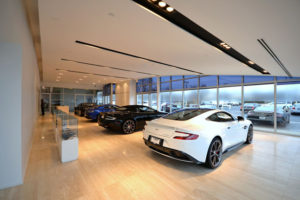 Retail Remodeling Photo Gallery - Aston Martin Downers Grove