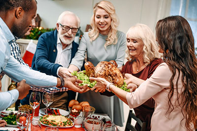 Thanksgiving - A Time for Giving Thanks